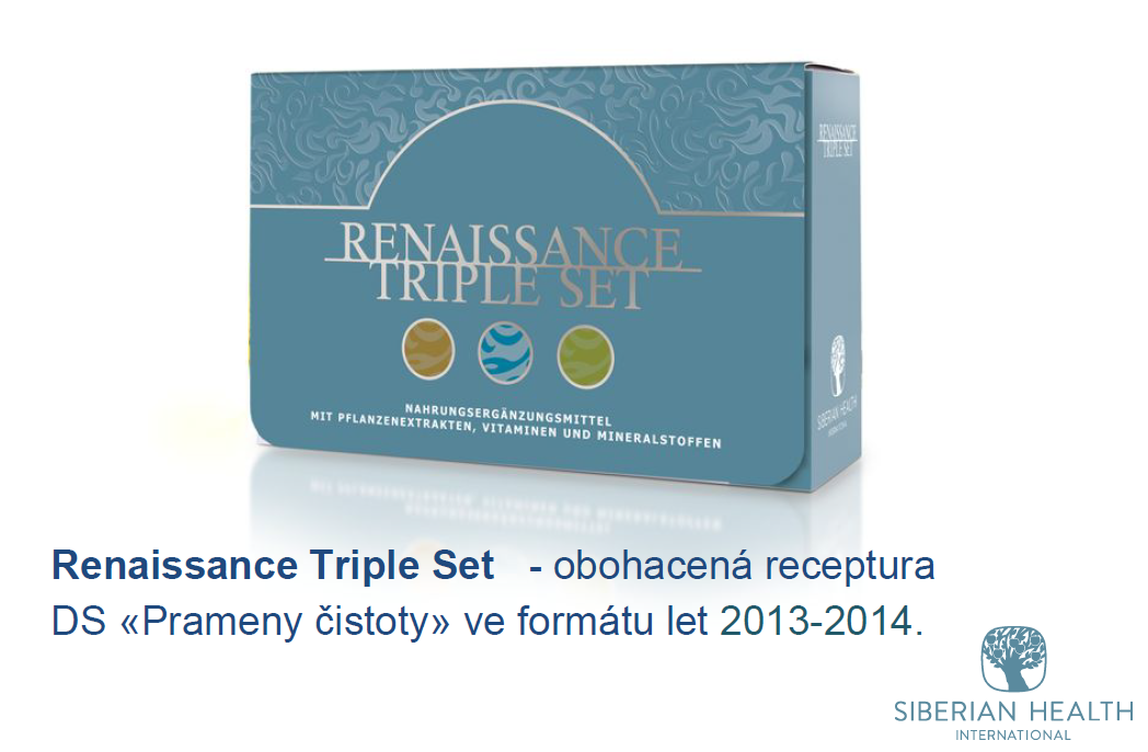 Reneissance Triple Set